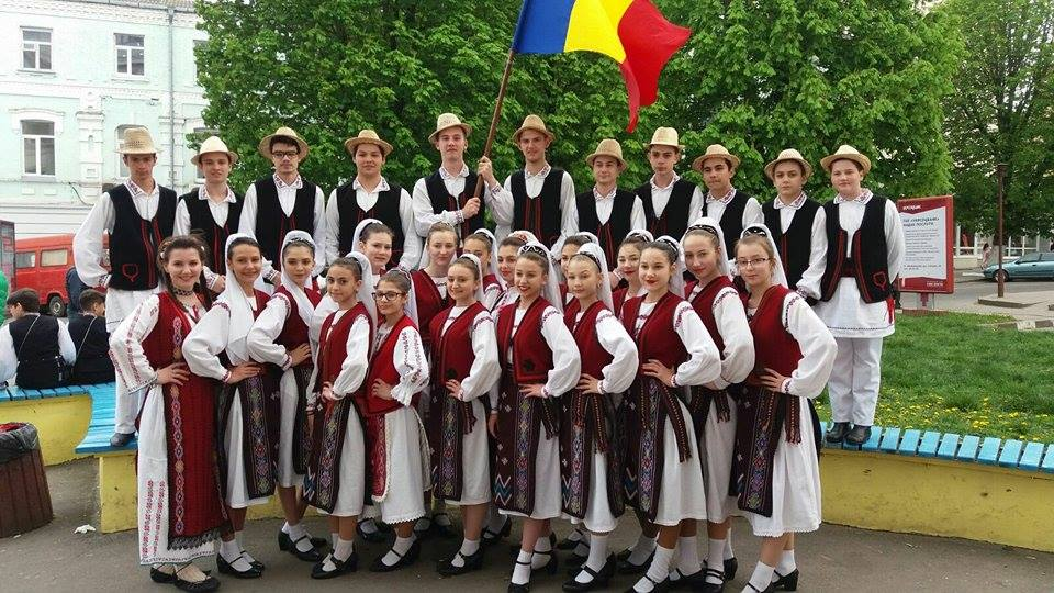 "Rumunija, Childrens Folk Ensemble ""Doruletul""Tulcea"
